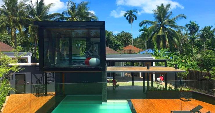 Newly Built Luxury 2 Bedroom Modern Villa in Maenam-19