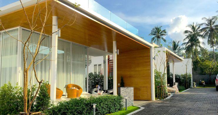 Newly Built Luxury 2 Bedroom Modern Villa in Maenam-2