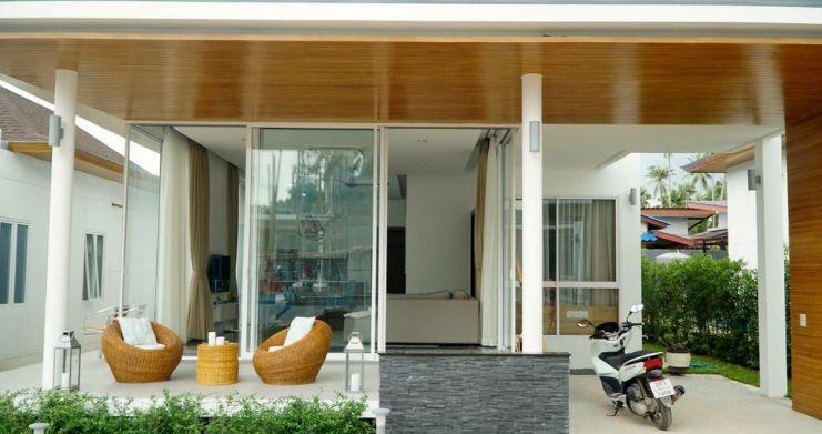 Newly Built Luxury 2 Bedroom Modern Villa in Maenam-1