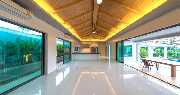 Luxury 3 Bedroom Bali Design Pool Villa in Maenam-4