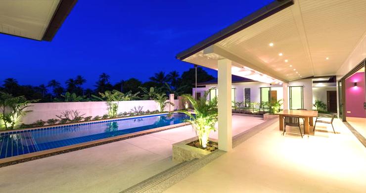 Luxury 3 Bedroom Bali Design Pool Villa in Maenam-2