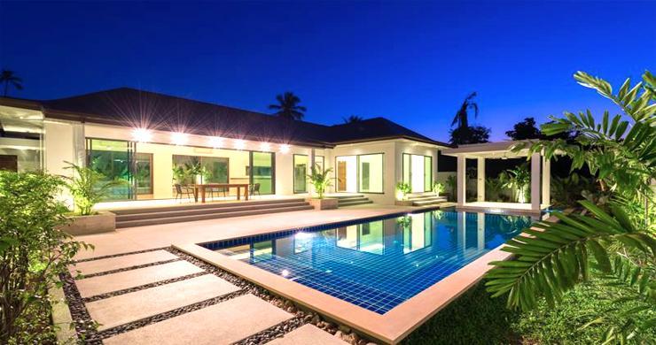 Luxury 3 Bedroom Bali Design Pool Villa in Maenam-1