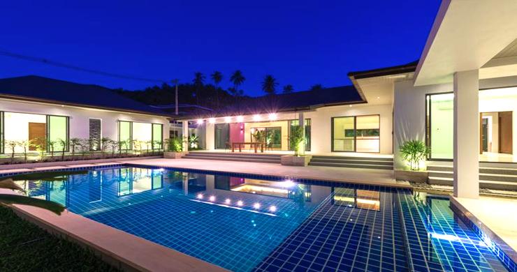 Luxury 3 Bedroom Bali Design Pool Villa in Maenam-20