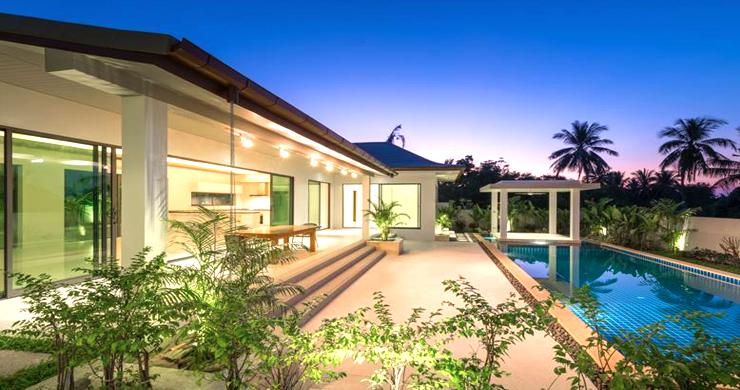 Luxury 3 Bedroom Bali Design Pool Villa in Maenam-18