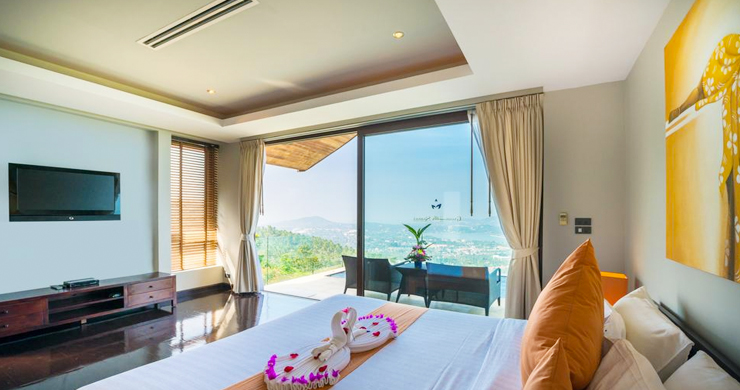 42% OFF! Spectacular 5 Bed Luxury Sea View Villa in Chaweng Noi-22