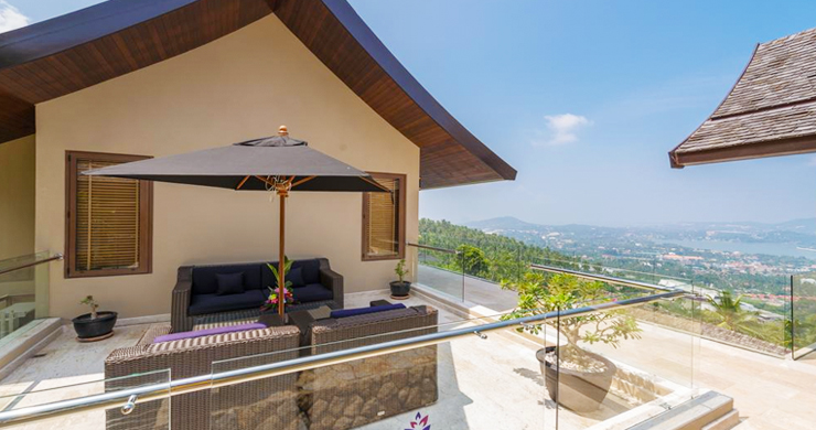42% OFF! Spectacular 5 Bed Luxury Sea View Villa in Chaweng Noi-17