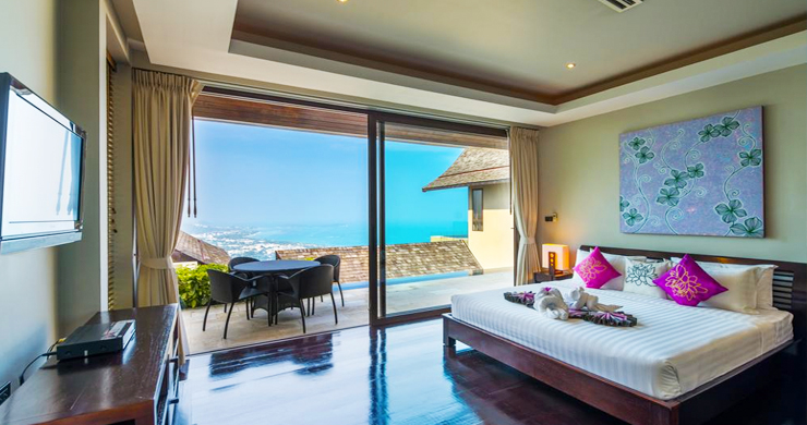 42% OFF! Spectacular 5 Bed Luxury Sea View Villa in Chaweng Noi-12