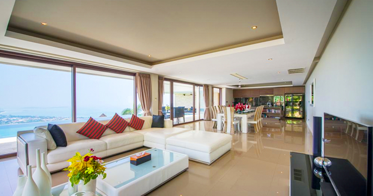 42% OFF! Spectacular 5 Bed Luxury Sea View Villa in Chaweng Noi-2