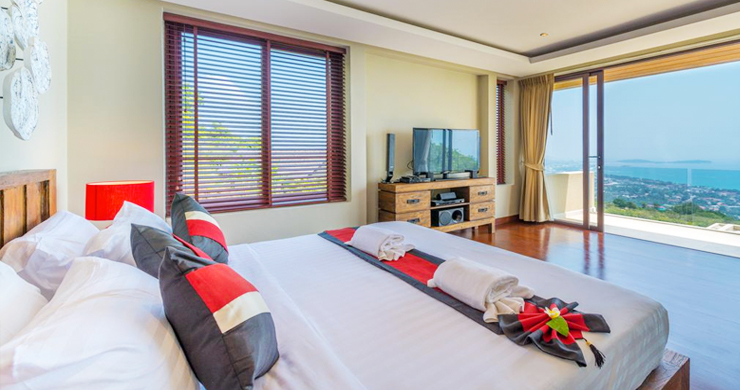 42% OFF! Spectacular 5 Bed Luxury Sea View Villa in Chaweng Noi-9