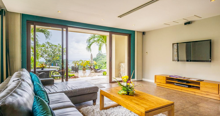 42% OFF! Spectacular 5 Bed Luxury Sea View Villa in Chaweng Noi-3