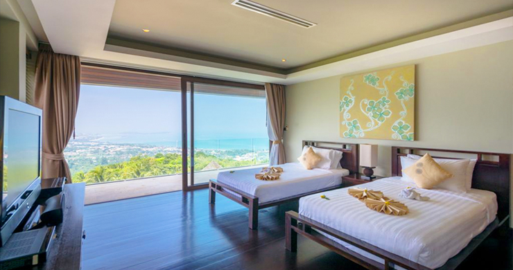 42% OFF! Spectacular 5 Bed Luxury Sea View Villa in Chaweng Noi-10