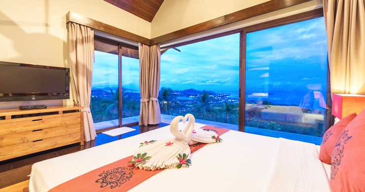 42% OFF! Spectacular 5 Bed Luxury Sea View Villa in Chaweng Noi-14