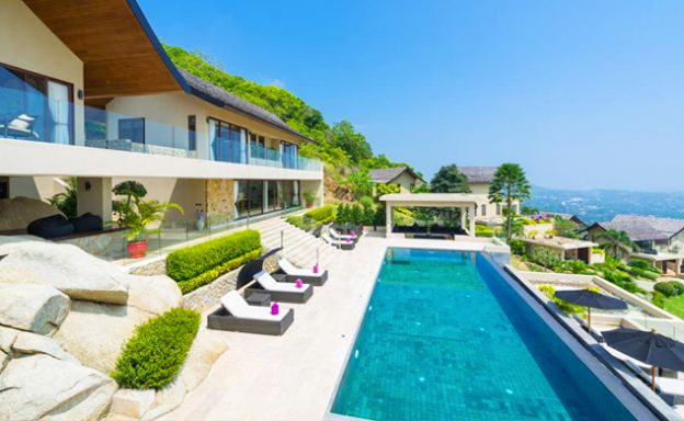 42% OFF! Spectacular 5 Bed Luxury Sea View Villa in Chaweng Noi