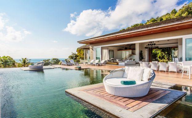 Ultra Luxury 5-Bedroom Sea view Villa in Choeng Mon