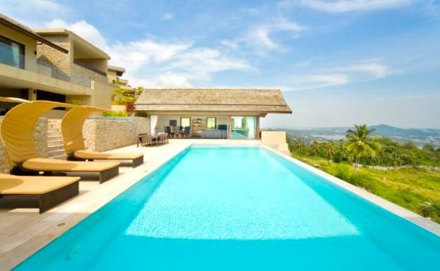 Reduced by 502K USD! Chaweng Noi 5-Bed Luxury Villa