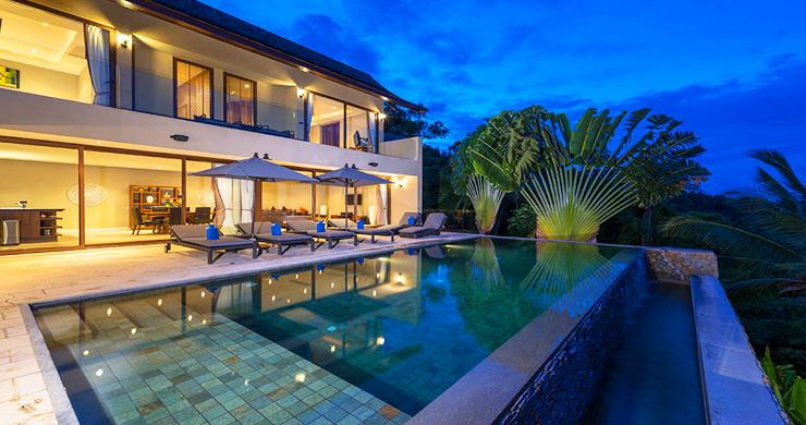 42% OFF! Sumptuous 3-Bed Luxury Sea view Villa in Chaweng Noi-1
