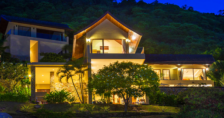 42% OFF! Sumptuous 3-Bed Luxury Sea view Villa in Chaweng Noi-24