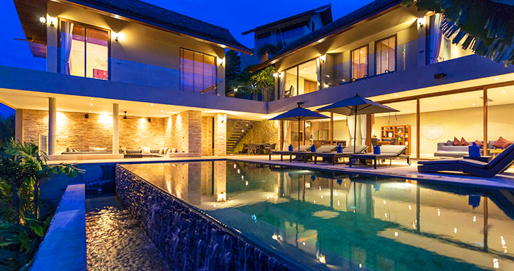 42% OFF! Sumptuous 3-Bed Luxury Sea view Villa in Chaweng Noi-21