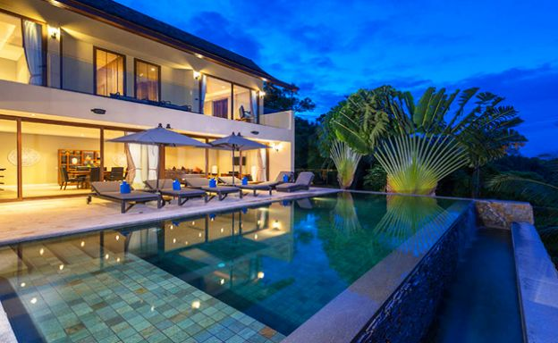 42% OFF! Sumptuous 3-Bed Luxury Sea view Villa in Chaweng Noi