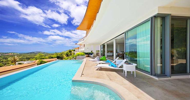 Award Winning Luxury Sea View Pool Villa & Studio-3