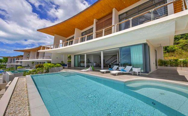 Award Winning Luxury Sea View Pool Villa & Studio