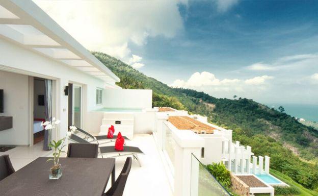 Modern 1 Bedroom Sea view Apartment in Bang Por