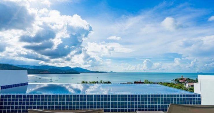 Sunset Sea-view 4-Bedroom Pool Villa in Bangrak-4