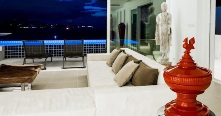 Sunset Sea-view 4-Bedroom Pool Villa in Bangrak-26