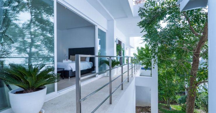 Sunset Sea-view 4-Bedroom Pool Villa in Bangrak-17