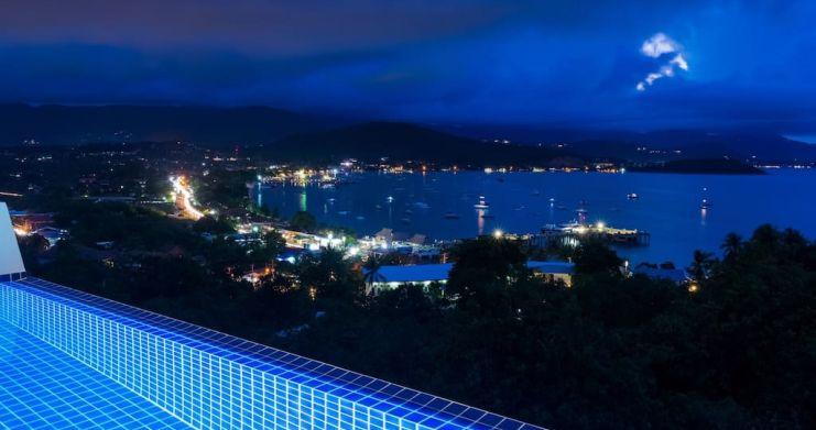 Sunset Sea-view 4-Bedroom Pool Villa in Bangrak-27