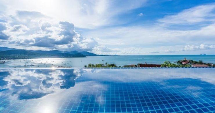 Sunset Sea-view 4-Bedroom Pool Villa in Bangrak-6