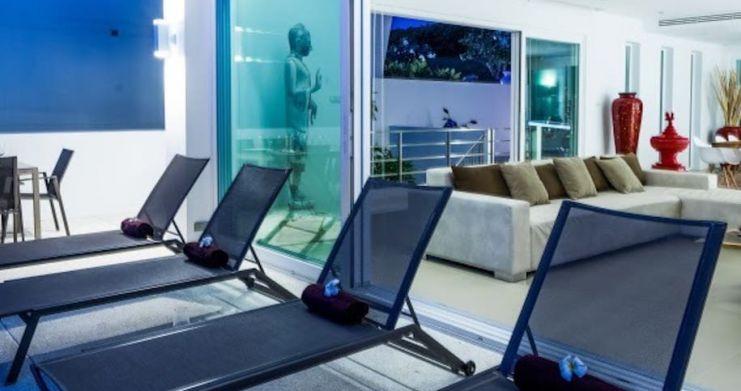 Sunset Sea-view 4-Bedroom Pool Villa in Bangrak-24