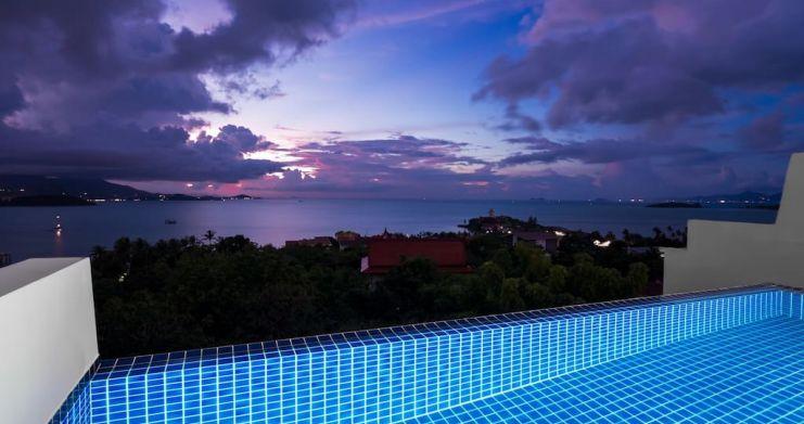 Sunset Sea-view 4-Bedroom Pool Villa in Bangrak-30