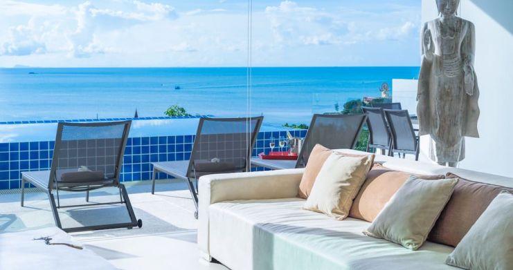 Sunset Sea-view 4-Bedroom Pool Villa in Bangrak-3