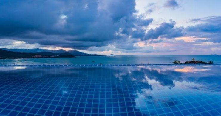 Sunset Sea-view 4-Bedroom Pool Villa in Bangrak-29