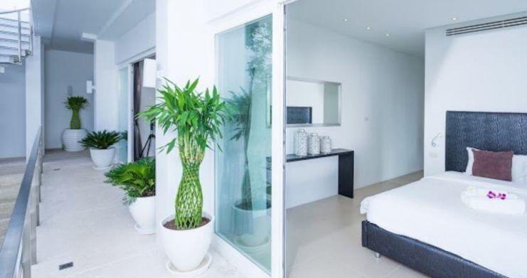 Sunset Sea-view 4-Bedroom Pool Villa in Bangrak-12