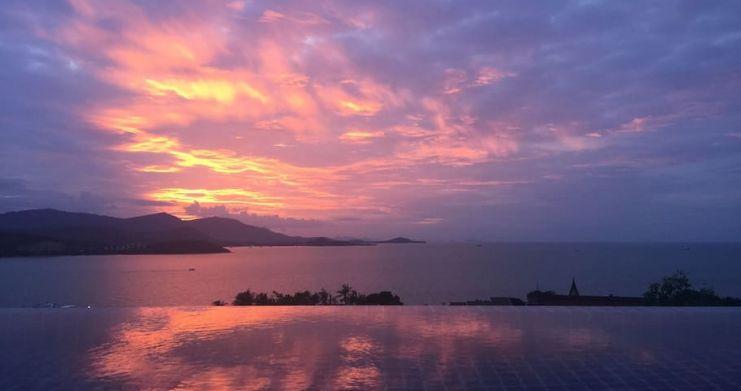 Sunset Sea-view 4-Bedroom Pool Villa in Bangrak-31