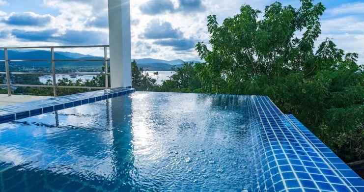 Sunset Sea-view 4-Bedroom Pool Villa in Bangrak-23