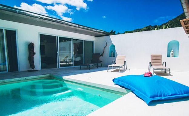 Tropical 3 Bedroom Pool Villa in Peaceful Lamai