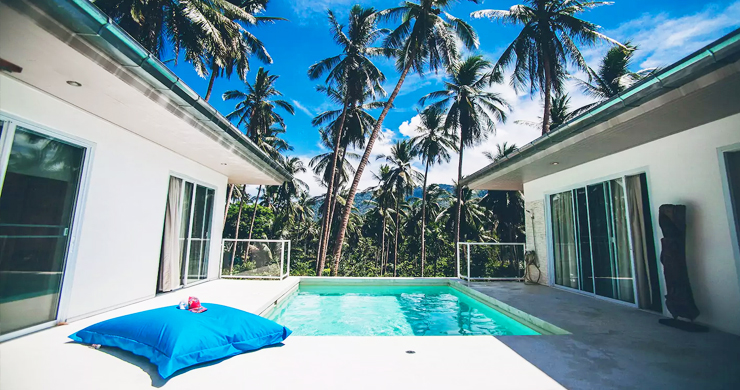 Tropical 3 Bedroom Pool Villa in Peaceful Lamai-2