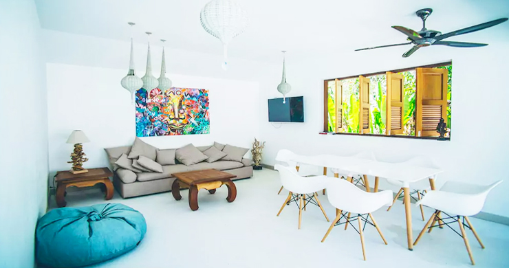 Tropical 3 Bedroom Pool Villa in Peaceful Lamai-3