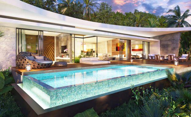Ultra Modern Luxury Sea view Pool Villas in Bophut