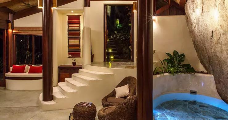 Beautiful 3 Bedroom Waterfall Luxury Villa in Laem Set-8