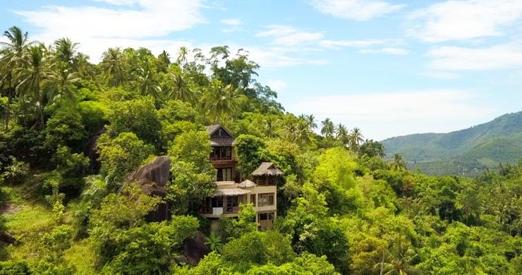 Beautiful 3 Bedroom Waterfall Luxury Villa in Laem Set-15