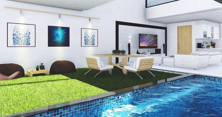 Modern 2 Bed Private Pool Villas By Bangrak Beach-3