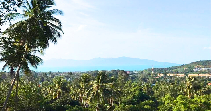 Prime Sea view Land Plots For Sale in Bophut Hills-3
