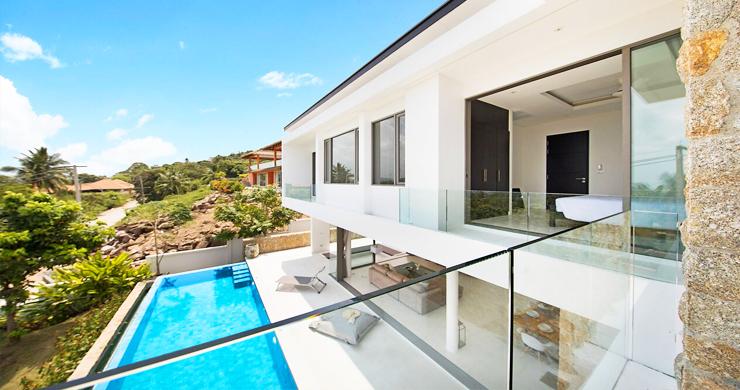 3 Bed Sea View Pool Villa big Garden in Bophut-7