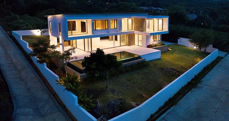 3 Bed Sea View Pool Villa big Garden in Bophut-20