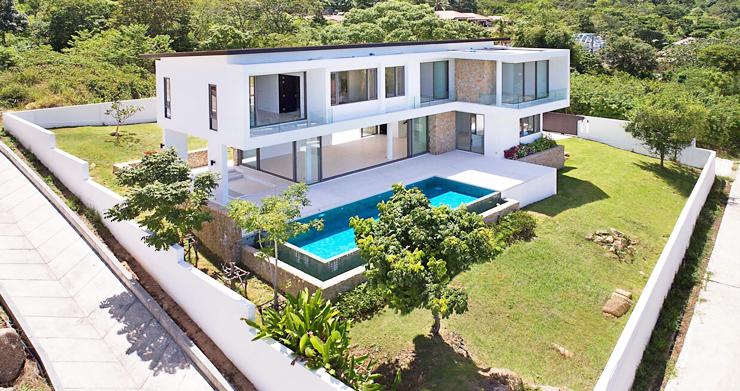 3 Bed Sea View Pool Villa big Garden in Bophut-6