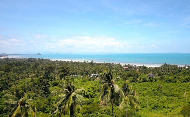 180 Degree Sunset Samui Sea view Land Plots For Sale